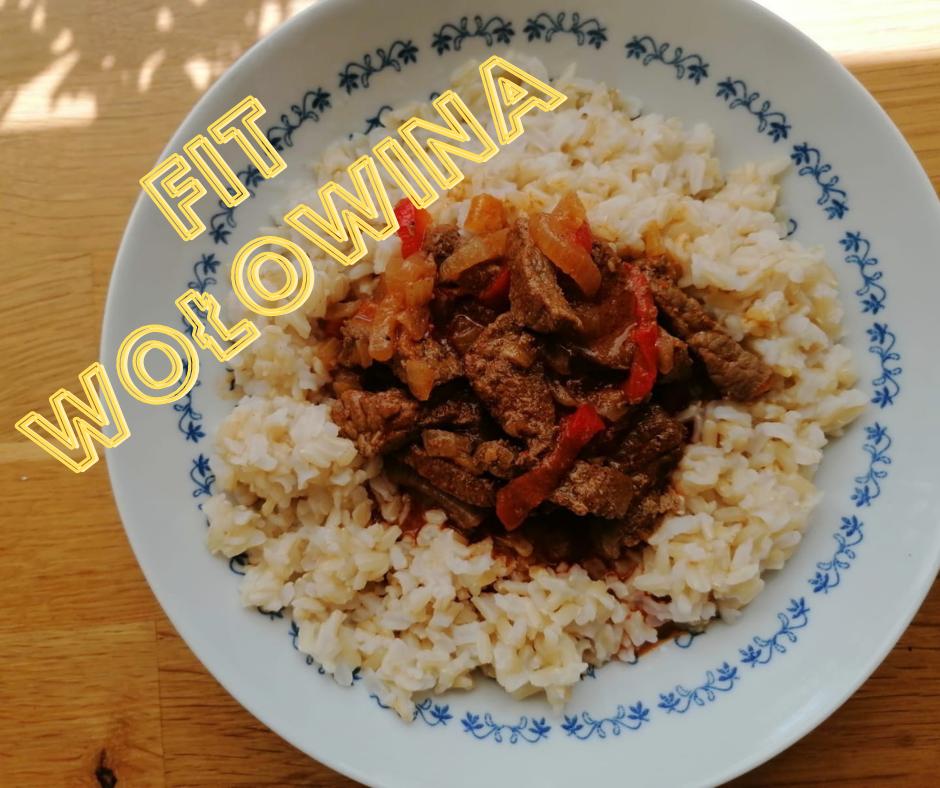 Fit Wołowina z ryżem