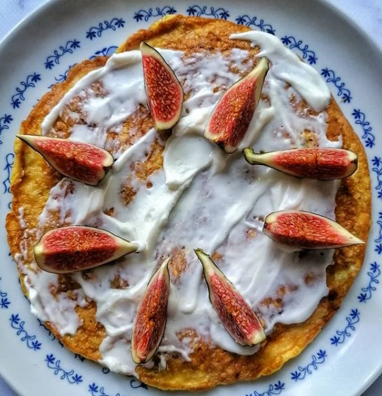 Fit omlet z figami